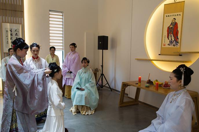 永康:七夕弘扬传统文化 共赏汉服之美